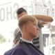Turkey Barber Scissors Cuts The Hair Of The Client - VideoHive Item for Sale