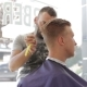 Barber Shaves Client's Hair Is Razor Sharp - VideoHive Item for Sale
