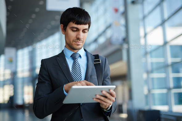 Networking on the move - Stock Photo - Images
