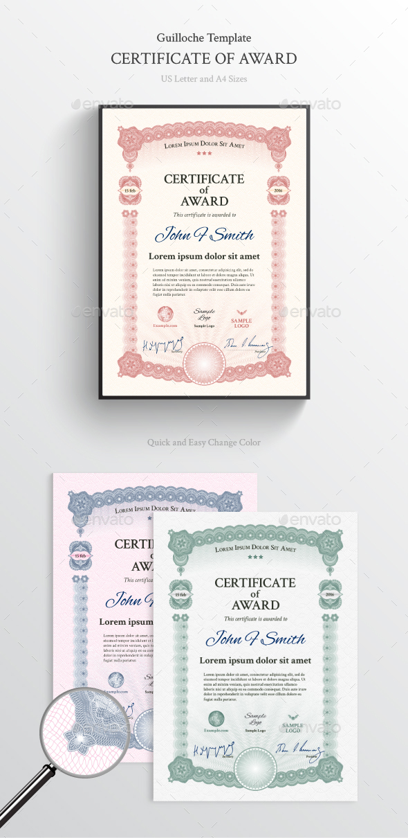 Award Certificate - Certificates Stationery