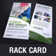 Rack Card DL Flyer Design v3 - GraphicRiver Item for Sale