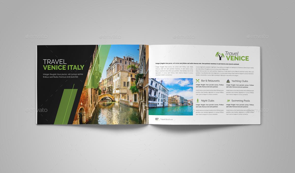 Holiday Travel Brochure Design by Miyaji75 | GraphicRiver