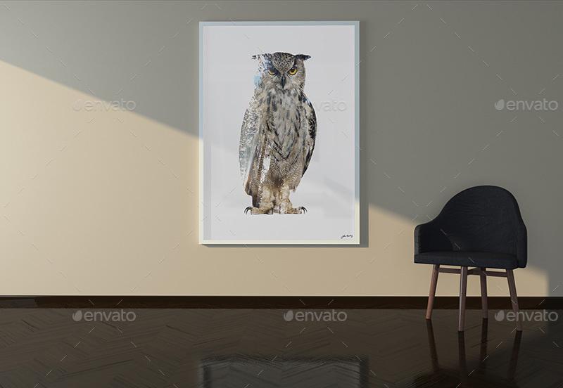 Room Poster Mock Up Images Living ImagesBIG5