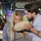 Young Couple Choose Melon At The Supermarket - VideoHive Item for Sale