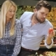 Couple Buy Tomatos At The Mall - VideoHive Item for Sale