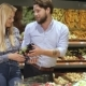 Couple Buy Eggplants at the Mall - VideoHive Item for Sale