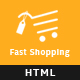 Fast-Shopping, Multipurpose Bootstrap html 5 Ecommerce Template - ThemeForest Item for Sale