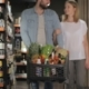 Couple Shopping At The Supermarket - VideoHive Item for Sale