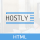 HOSTLY - Responsive HTML5 Template