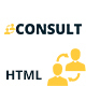 CONSULT - Consultant Business HTML Template Nulled