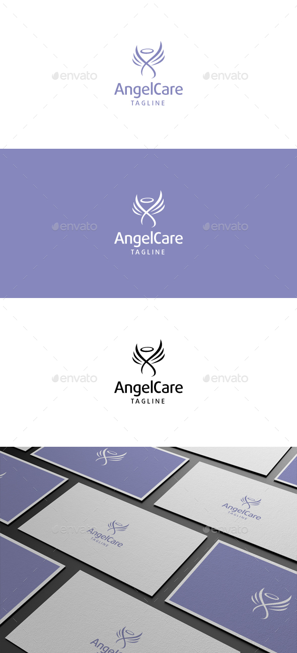 Angel Care Logo - Symbols Logo Templates