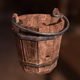 Detailed Medieval Bucket - 3DOcean Item for Sale