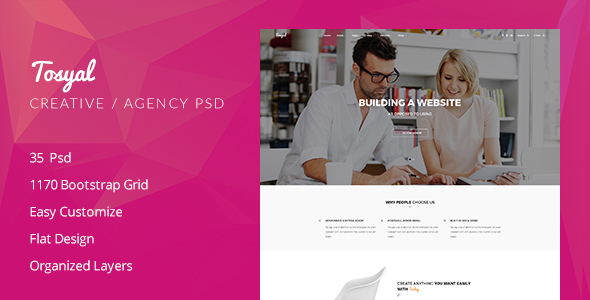 Tosyal Business Psd Template