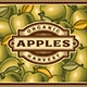 Retro Apple Harvest Label - GraphicRiver Item for Sale