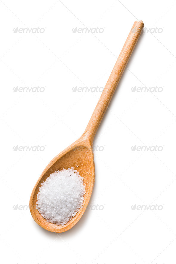 white salt - Stock Photo - Images