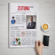 Zeitung Daily Newspaper - GraphicRiver Item for Sale