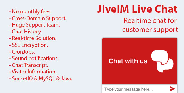 JiveIM Live Chat Support - CodeCanyon Item for Sale