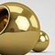 Download C4D V-Ray Gold Material from 3DOcean