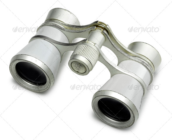 old binocular - Stock Photo - Images
