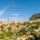 Beautiful View Of The Small Town Valldemossa Situated In Picturesque Mountains On Mallorca, Spain. - VideoHive Item for Sale