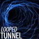 Wireframe Endless Tunnel - VideoHive Item for Sale