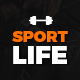 SportLife - Sport, Gym, Fitness PSD Template Nulled