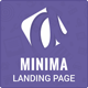 Minima Simple App Showcase Landing Page - ThemeForest Item for Sale