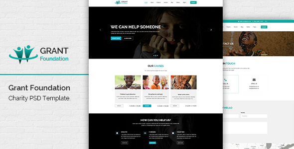 Grant Foundation PSD Template