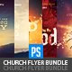 Church Christian Themed Event Flyers Bundle (5in1) - GraphicRiver Item for Sale