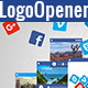 Logo Opener Icons Down - VideoHive Item for Sale