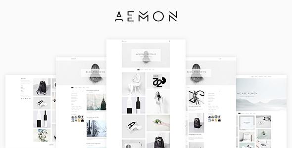 AEMON Portfolio PSD Template - Portfolio Creative