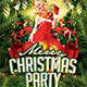 Merry Christmas Party - GraphicRiver Item for Sale