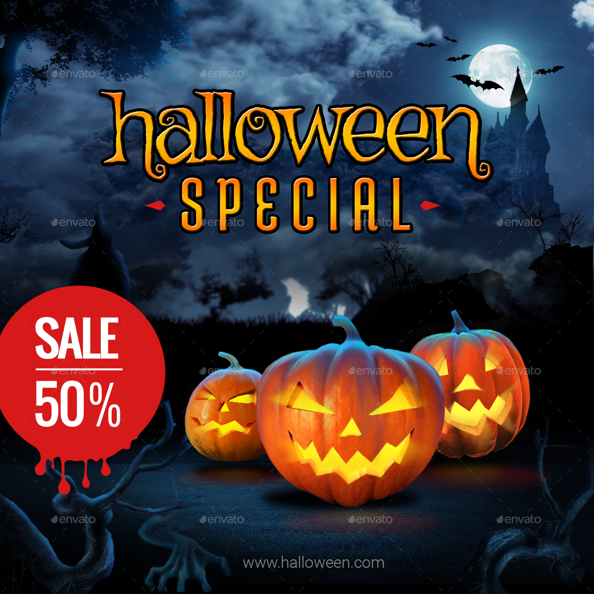 Halloween Banners by graycells-graphic | GraphicRiver
