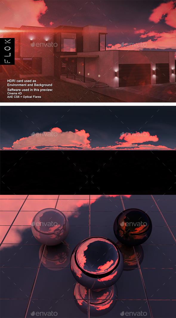 Sunset Desert 80 - 3DOcean Item for Sale