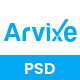 Arvixe - One Page Corporate PSD Template - ThemeForest Item for Sale