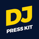 ProDJ - DJ Press Kit / DJ Resume PSD Template - GraphicRiver Item for Sale