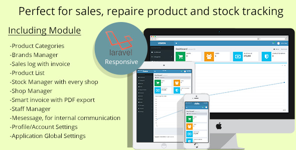 Multistore sales and repair tracking system - CodeCanyon Item for Sale
