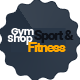 Gym_Shop eCommerce PSD Template - ThemeForest Item for Sale