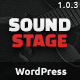 Sound Stage - A Professional WordPress Theme for Music & Bands - ThemeForest Item for Sale