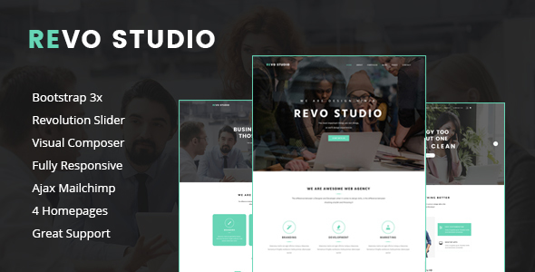 Revo Studio – Multipurpose WordPress Theme