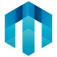 Meta Cubic (Letter M) Logo