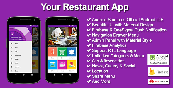 Your Restaurant App - CodeCanyon Item for Sale