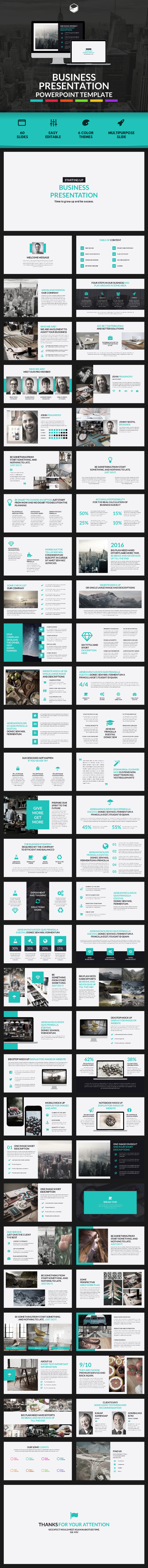 Business presentation powerpoint template by descarteshouston business presentation powerpoint template business powerpoint templates alramifo Choice Image