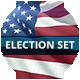 Election Day 2016 Set - 3DOcean Item for Sale