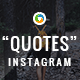 Quotes Instagram Templates - 10 Designs - GraphicRiver Item for Sale