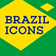 Brazil Landmark Icons - GraphicRiver Item for Sale