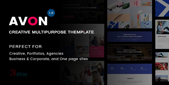 Avon – Creative Multipurpose Template