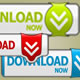 Download Buttons A-D - GraphicRiver Item for Sale