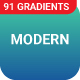 91 Modern Gradients for Creative Designers - GraphicRiver Item for Sale
