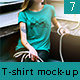 Female T-Shirt Street Mock-Up - GraphicRiver Item for Sale